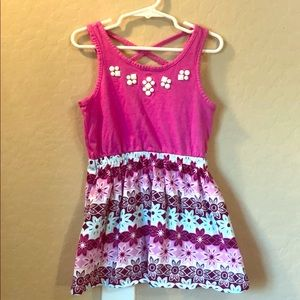 Gymboree Little Girls pink dress size 4
